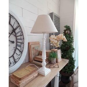 Stolní lampa White Antique, 30x61 cm