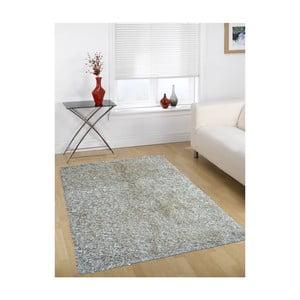 Šedo-béžový koberec Webtappeti Shaggy, 160x230cm