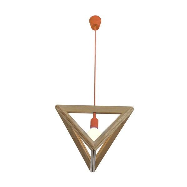 Závěsné světlo Triangle Orange