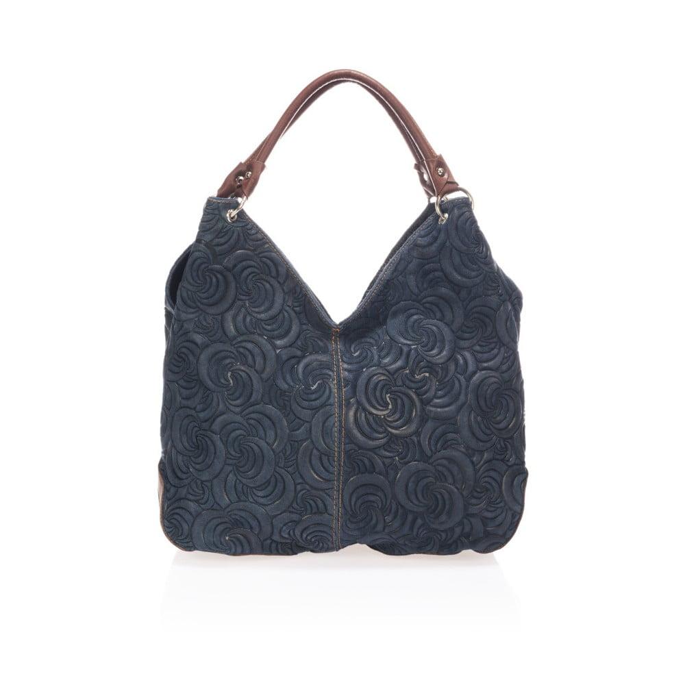 ... Modrá kožená kabelka Giorgio Costa Terst ... 81b1dba8bd4