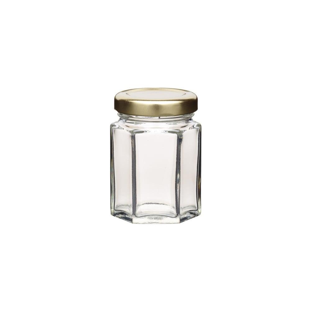 Zavařovací sklenice Kitchen Craft Hexagonal, 55 ml