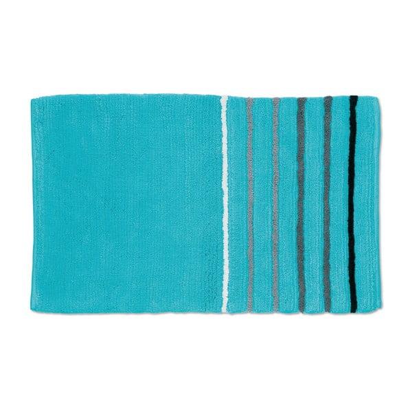 Koupelnová podložka Ladessa, modrá, 60x100 cm