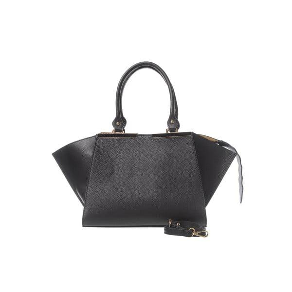 Kožená kabelka Fashion Leather Black