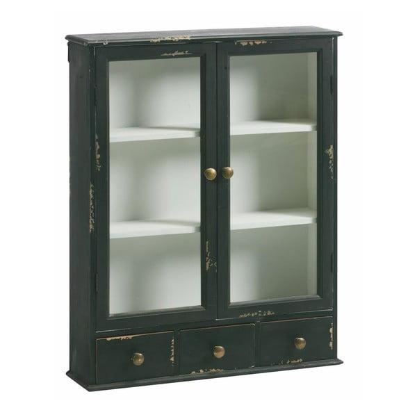 Nástěnná skříňka Wall Cabinet Black, 75x60x15 cm