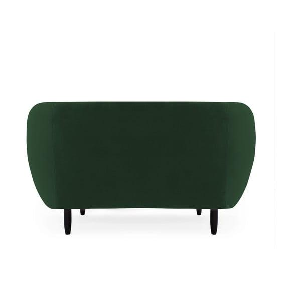 Canapea 2 locuri Vivonita Laurel Emerald, verde