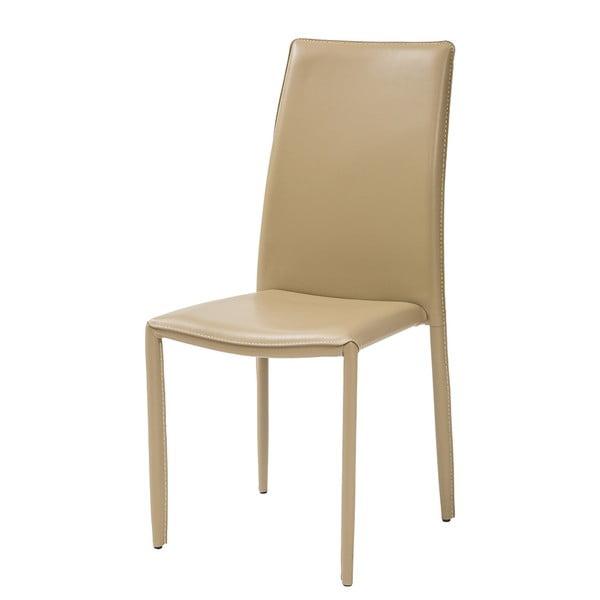 Jídelní židle Dedis, béžová