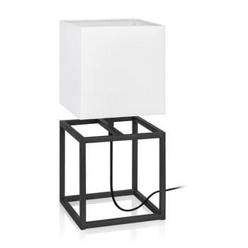 Veioză Markslöjd Cube, 20 x 20 cm, negru - alb