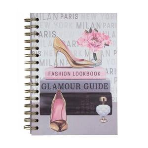 Zápisník Tri-CoastalDesign Fashion Lookbook