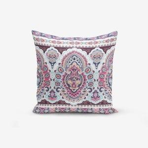 Povlak na polštář s příměsí bavlny Minimalist Cushion Covers Lila Cini, 45 x 45 cm