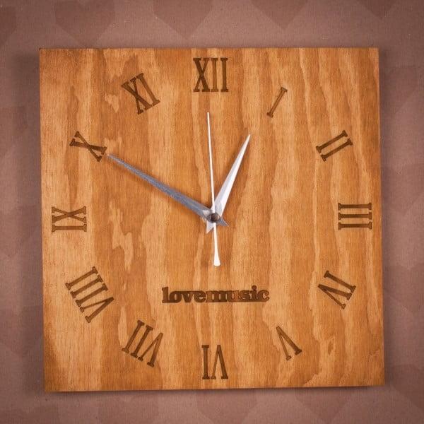 Dřevěné hodiny Klasik