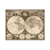 Fotoobraz Mapa Světa, Frederick 1660, 90x70 cm