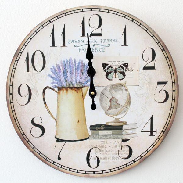 Vintage hodiny Provence II