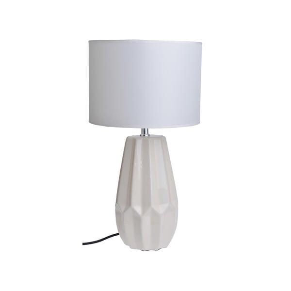 Stolní lampa Ceramic Foot, bílá