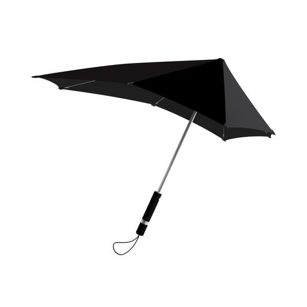 Deštník Senz original fat grey, odolný vůči větru o rychlosti až 100 km/h