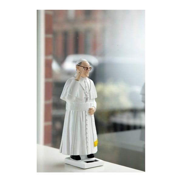 Figurină solară Kikkerland Pope