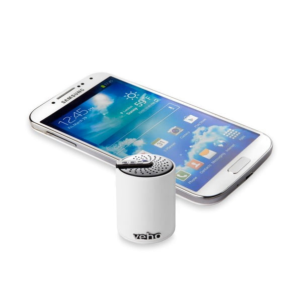 Mini speaker Veho Bluetooth 360B White