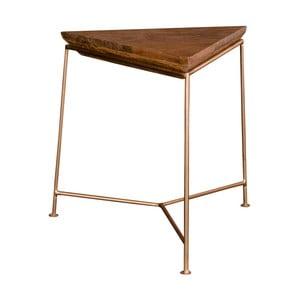 Odkládací stolek z mangového dřeva House Nordic Raipur