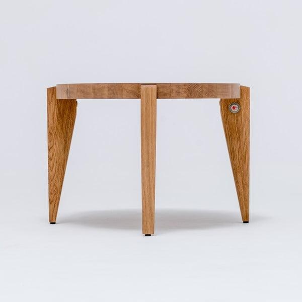 Dubový kávový stolek Bontri, 90x44 cm