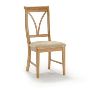 Jídelní židle z dubového dřeva VIDA Living Carmen