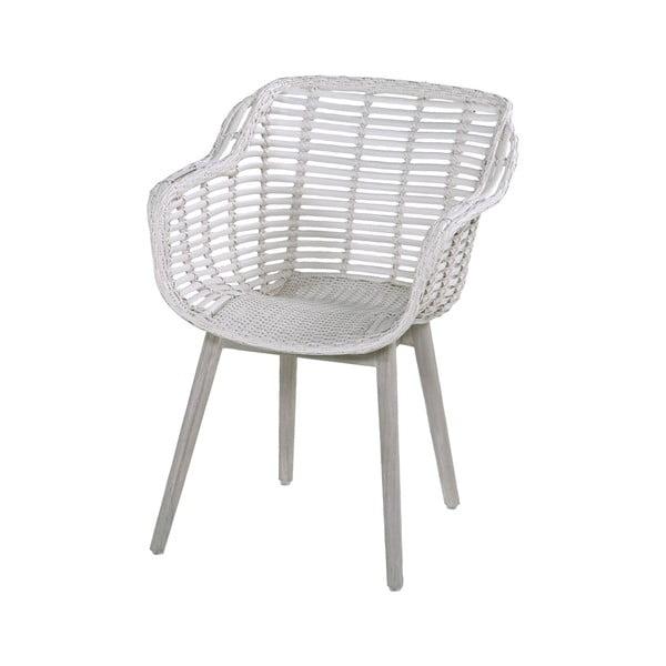 Biela záhradná stolička Hartman Cecilia