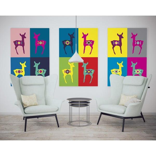 Plakát Srnky Warhol pastel, střední