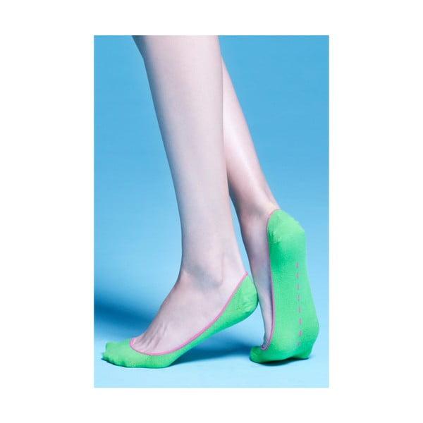 Set 3 párů ponožek Gina grass green/orange/purple, vel. univerzální