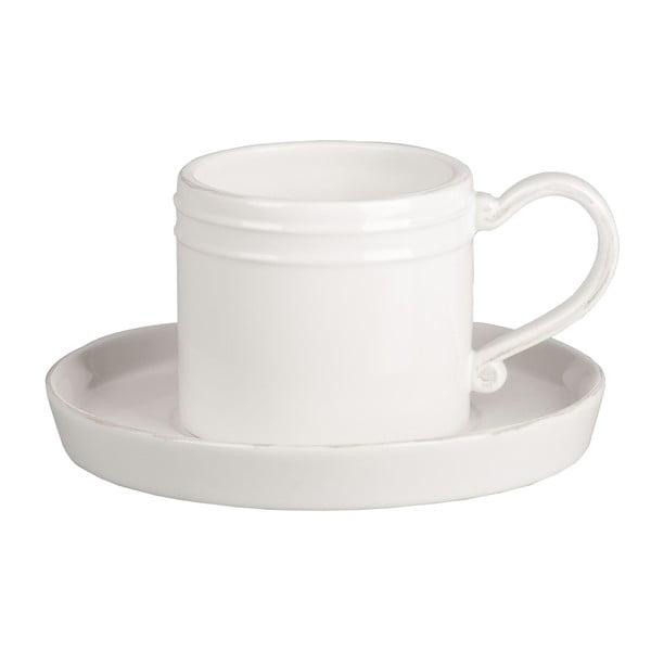 Hrnek na kávu s podšálkem Piatto