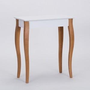 Bílý konzolový odkládací stolek Ragaba Console,délka65cm