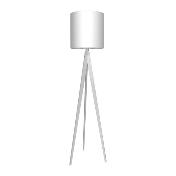 Bílá stojací lampa 4room Artist, bílá lakovaná bříza, 158 cm