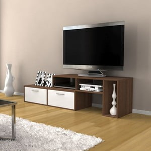 Televizní stolek Barcelona Walnut