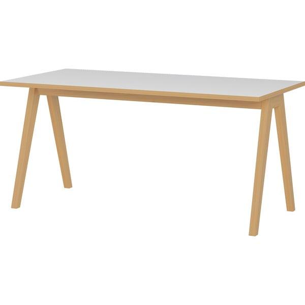 Białe biurko Germania Helsinki, szer. 160 cm