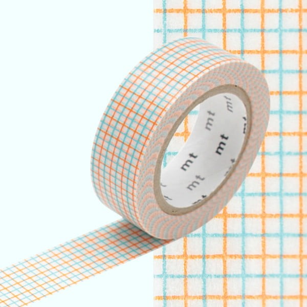 Rosalie washi dekorszalag, hosszúság 10 m - MT Masking Tape
