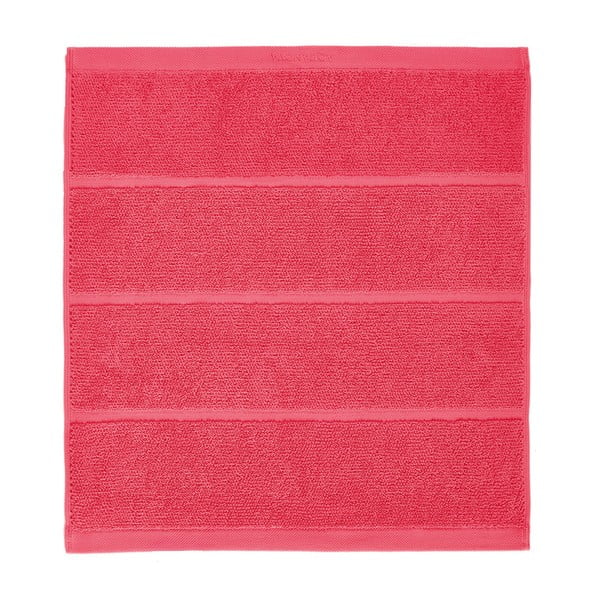 Korálově červená koupelnová předložka Aquanova Adagio, 60x60cm
