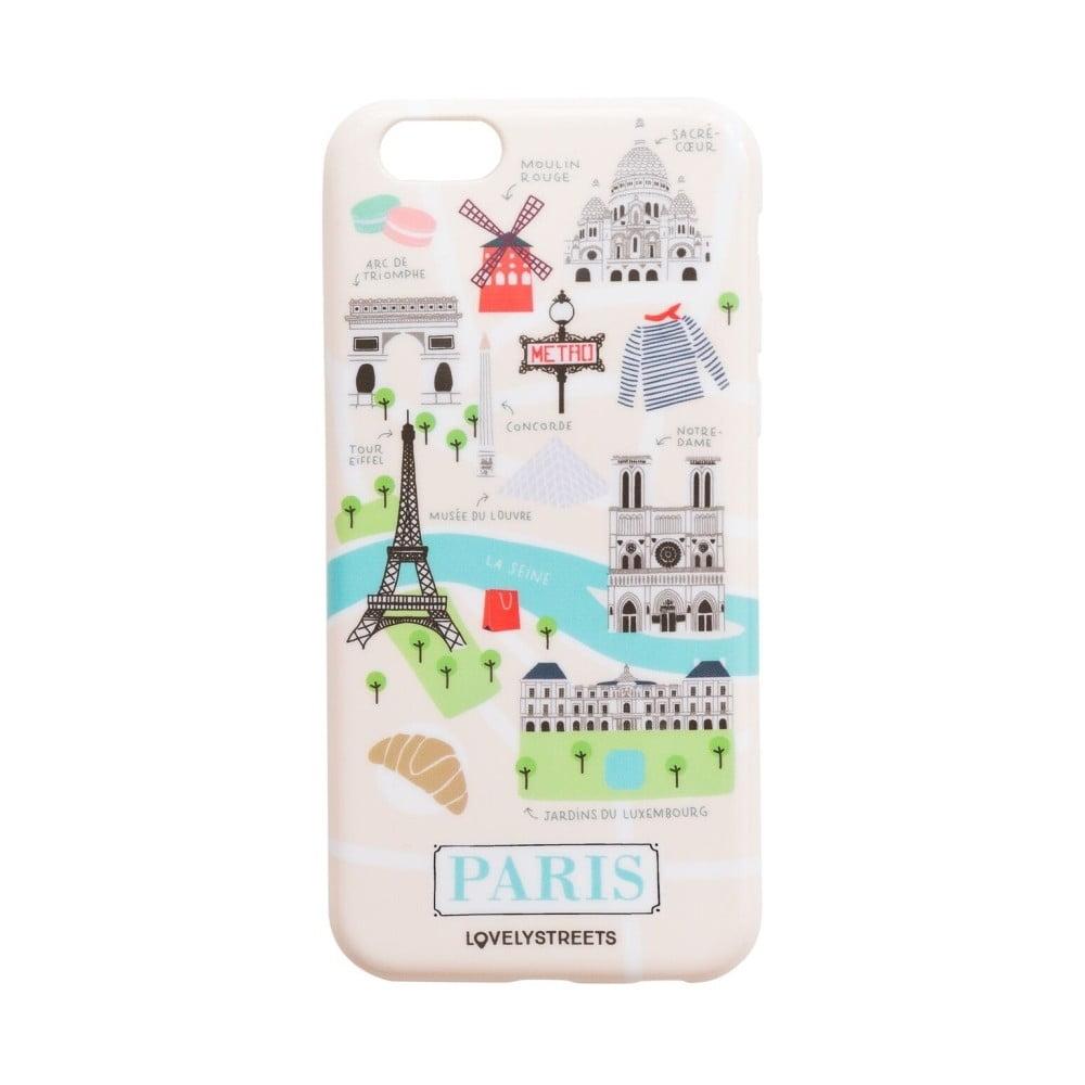Barevný obal na iPhone 6/6S Mr. Wonderful Paris