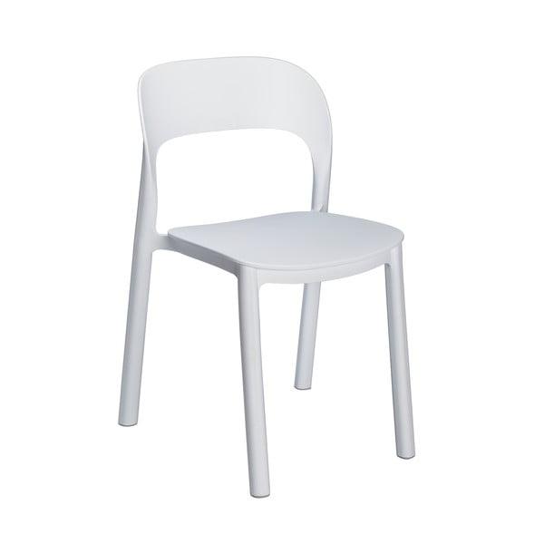 Set 4 scaune de grădină Resol Ona, alb