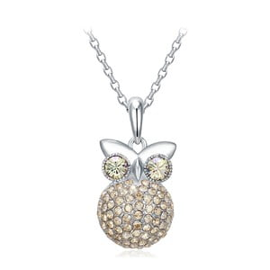 Náhrdelník s krystaly Swarovski Elements Crystals Owl