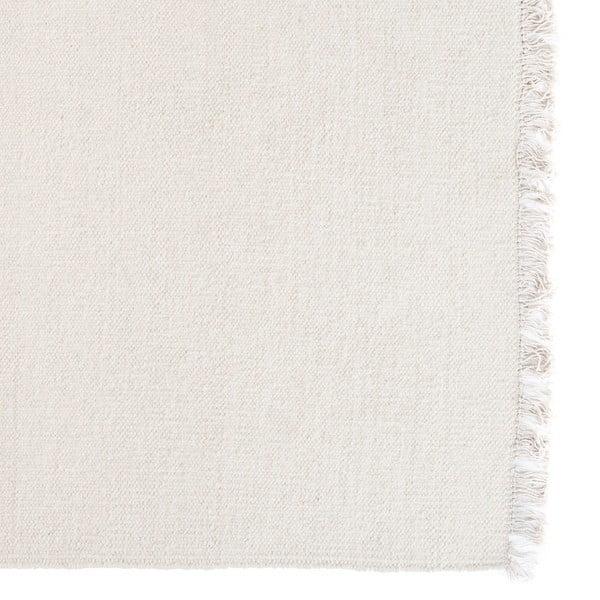Vlněný koberec Rainbow White, 140x200 cm