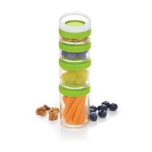 4dílný obědový box Kitchen Craft Healthy Eating