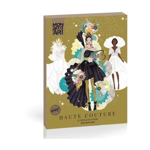 Papírová panenka Mon Petit Art Haute Couture De mode