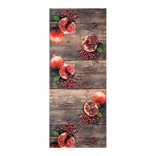 Vysoce odolný koberec Webtappeti Melograna, 58x115cm