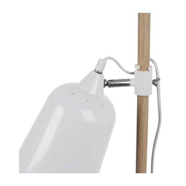 Bílá stolní lampa  Leitmotiv  Wood