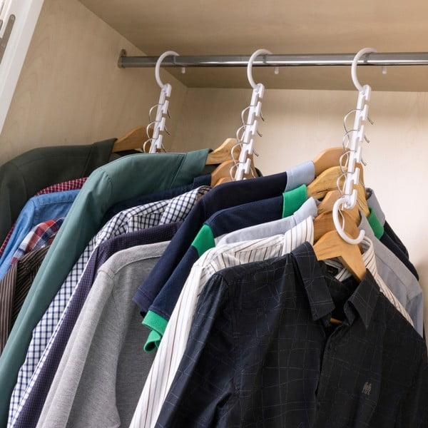 Set závesných organizérov na oblečenie InnovaGoods