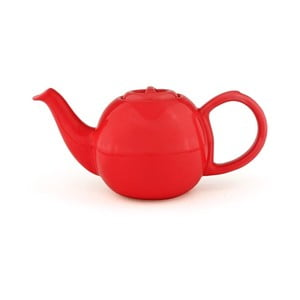 Červená konvice se sítkem na sypaný čaj Bredemeijer Cosette, 500ml