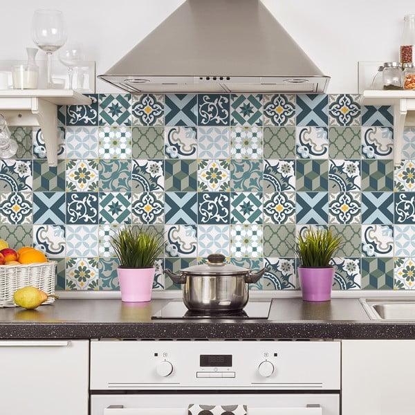 Azulejos Rony 24 db-os falmatrica szett, 10 x 10 cm - Ambiance