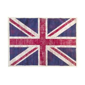Koberec s motivem anglické vlajky Cotex, 120 x 170 cm