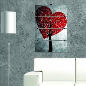Vícedílný obraz Heart Tree, 34x55 cm