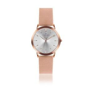 Unisex hodinky s páskem z nerezové oceli v růžovozlaté barvě Frederic Graff Breithorn