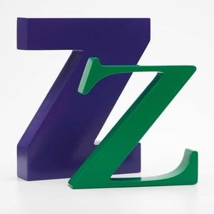 """Malé """"z"""" 13x13 cm, zelená"""