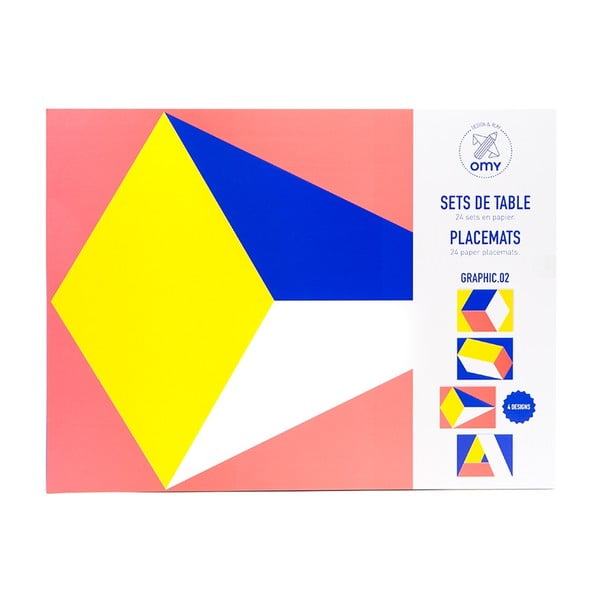 Prostírání OMY Colors, 24 ks