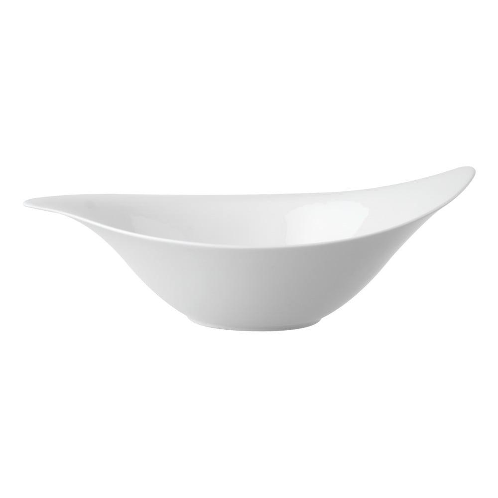 Bílá porcelánová miska na salát Villeroy & Boch New Cottage, 36 x 24 cm